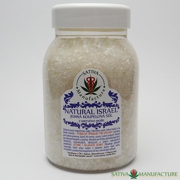 Sůl z Mrtvého moře koupelová přírodní
