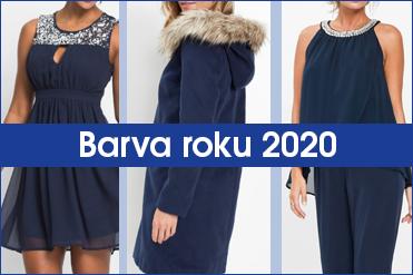 Doplňte si šatník o kousky v klasické modré, barvě roku 2020