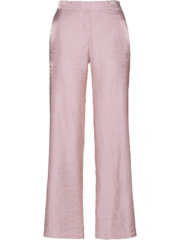 BPC SELECTION lesklé kalhoty (BARVA RŮŽOVÁ, VELIKOST 38)
