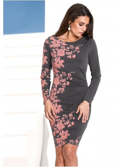 BPC SELECTION módní šaty s květy
