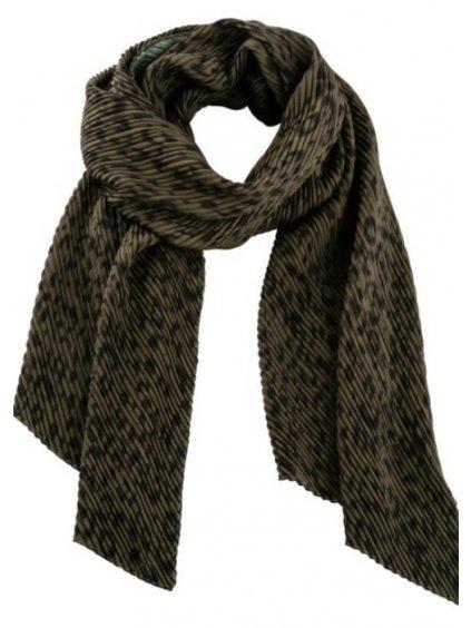 BONPRIX plisovaný šátek
