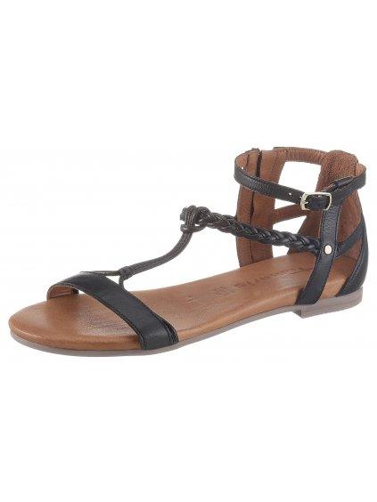 """TAMARIS """"Kim"""" kožené sandály"""