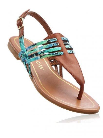 RAINBOW žabkové sandály