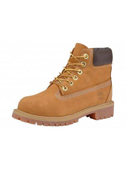 """TIMBERLAND """"6 Inch Premium Waterproof Boot"""" kožené kotníčkové boty"""