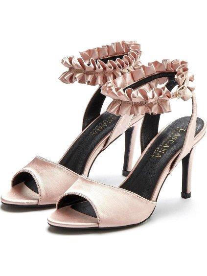 LASCANA sandály na podpatku