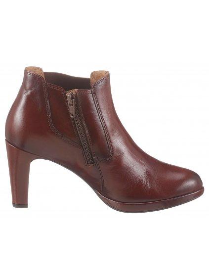 GABOR kotníčkové boty na podpatku