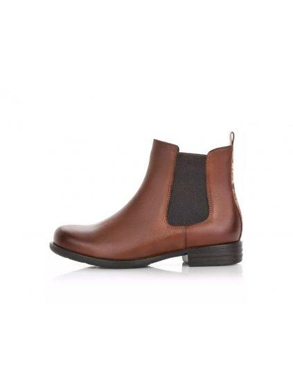 REMONTE kožené kotníčkové boty