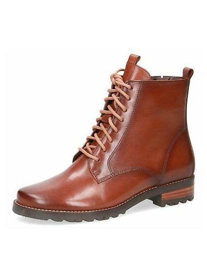 CAPRICE kožené šněrovací boty