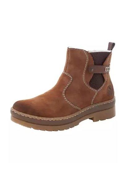 RIEKER zimní kotníčkové boty