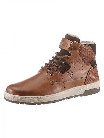 BRUNO BANANI kožené kotníčkové boty