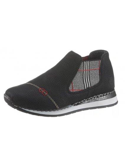 RIEKER Chelsea kotníčkové boty