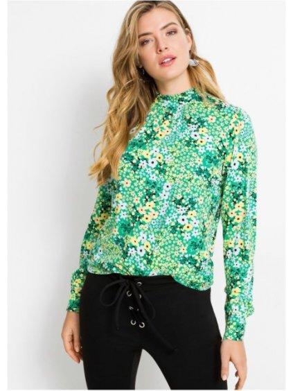RAINBOW tričko s květy