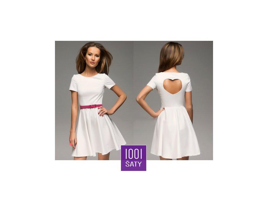 šaty Rikky White - 1001ŠATY - SATY.MODA 075554e1945