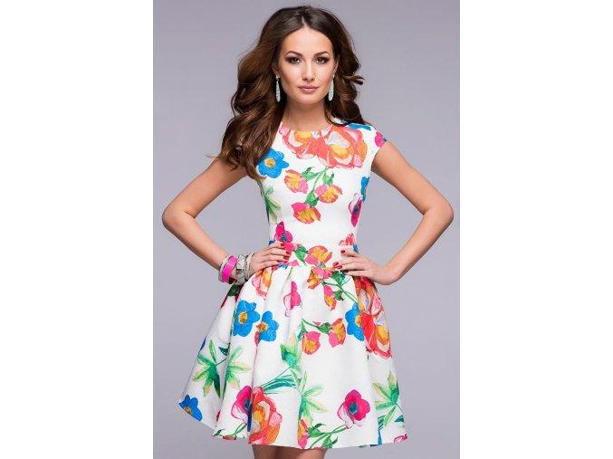 šaty Aria s potiskem