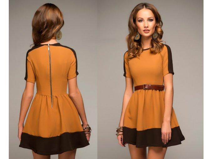 šaty Maggie Yellow
