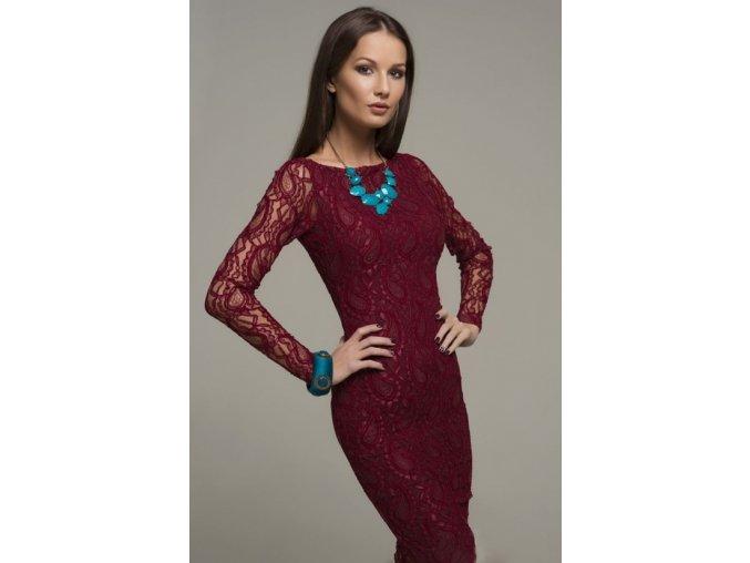 šaty Maria Wine