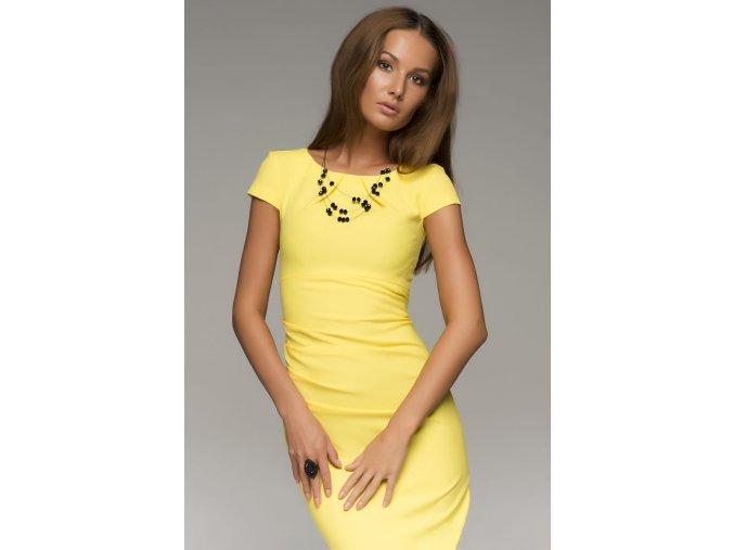 šaty Molly Yellow