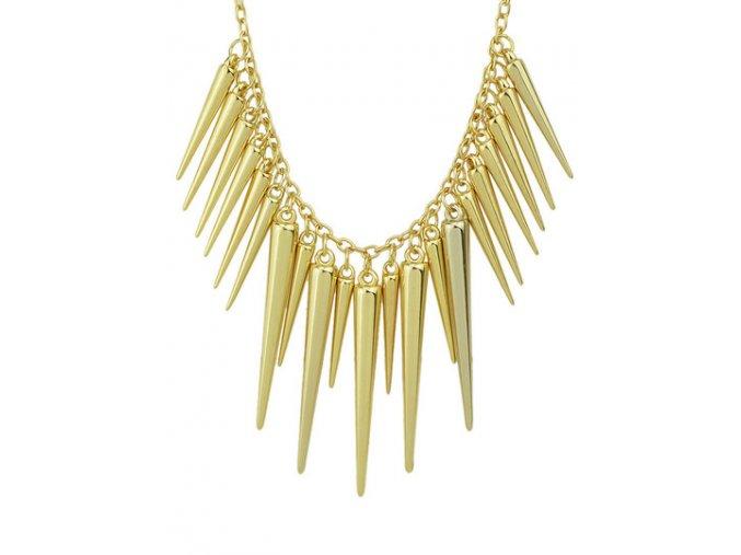 moderní stýlový náhrdelník s šípy