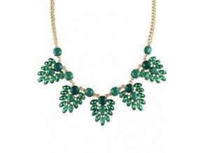 Elegantní náhrdelník ozdobený kamínky