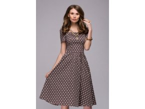 šaty Morgan s puntíky