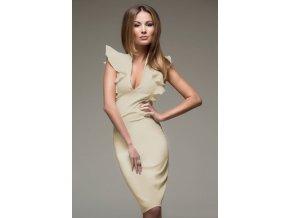 Společenské šaty Tessa Beige