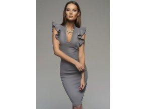 pouzdrové šaty tessa gray