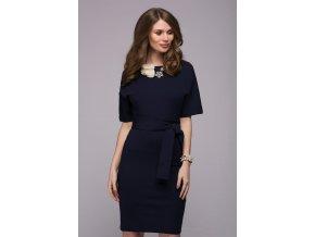 elegantní modré šaty Jennifer Blue new DM00211DB 2 1200x1200