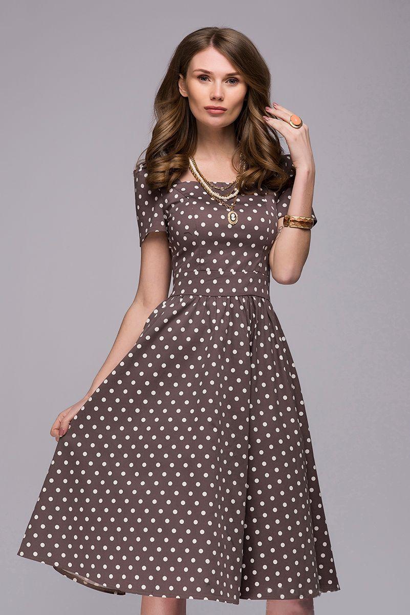 1001šaty šaty Morgan s puntíky Velikost: M