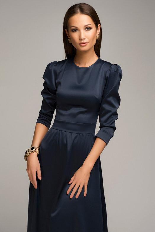 1001šaty plesové šaty Veronica Blue velikost: S