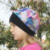 Dětská čepice pestrobarevná