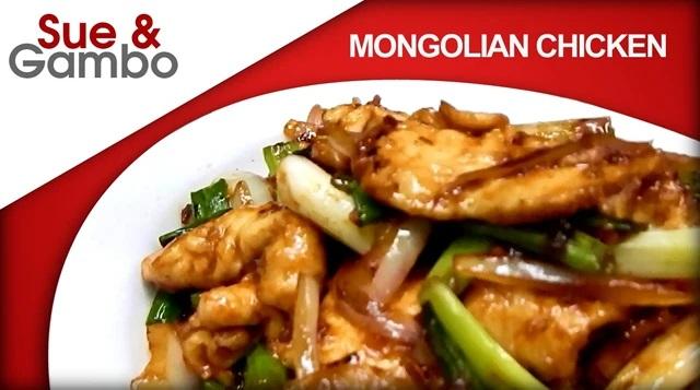Kuřecí po mongolsku