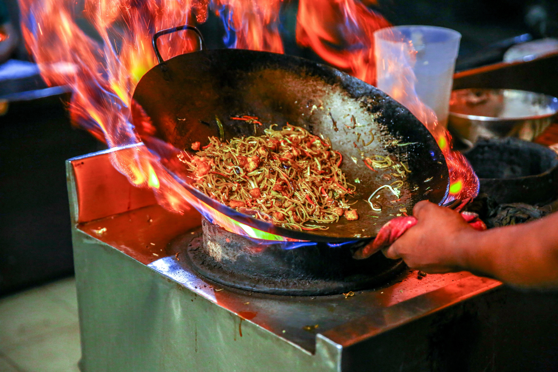 Vaření na WOKu