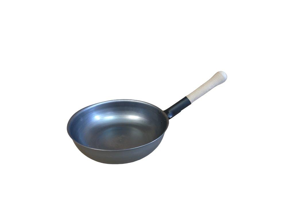 Ocelová pánev wok