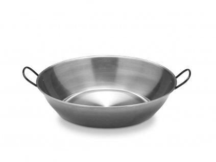 Hluboká ocelová pánev