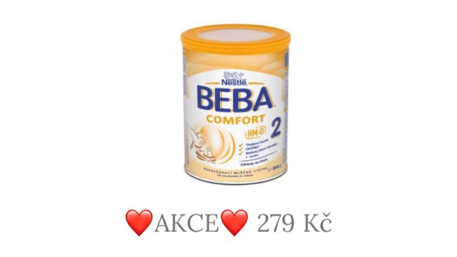 Beba comfort 2 akce