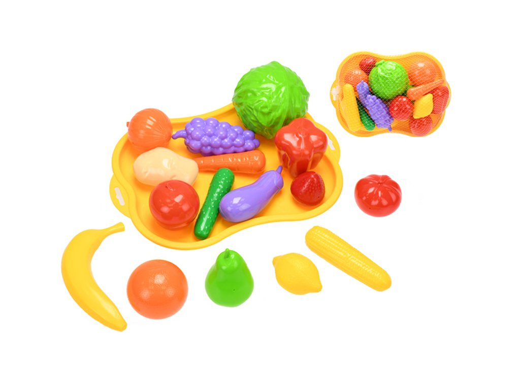 Sada ovoce a zeleniny 32cm v síťce