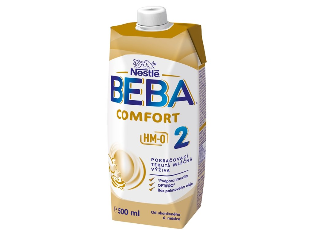 beba comfort 2 hm o tekuta pokracovaci mlecna kojenecka vyziva od ukonceneho 6 mesice 500ml 7613039919392 7613039919392 T8