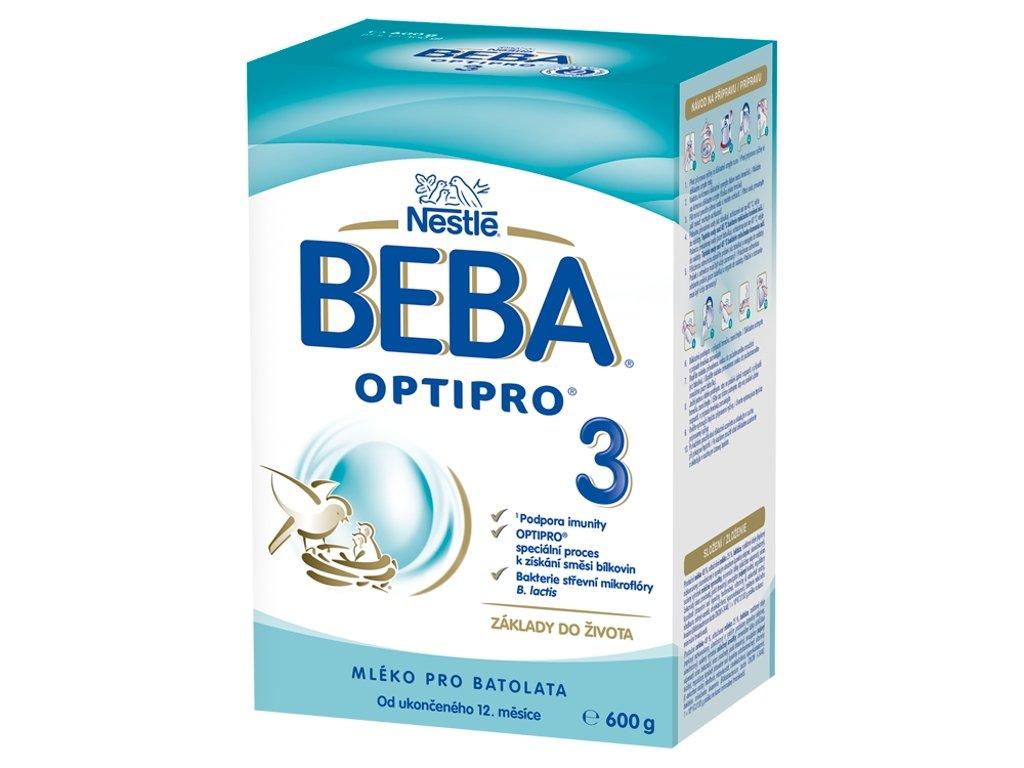 beba optipro 3 instantni mlecna vyziva pro male deti 600 g krabice 2x 300 g 7613032458423 7613032458423 T8