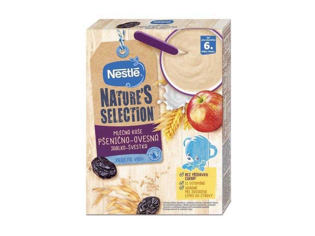 nestle nature s selection mlecna obilna kase jablko svestka 250 g 7613038056081