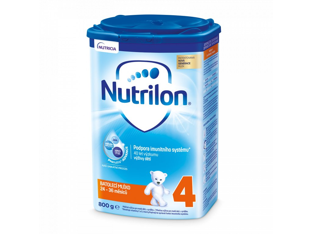 Nutrilon 4 batolecí mléko 800 g 8590340111280