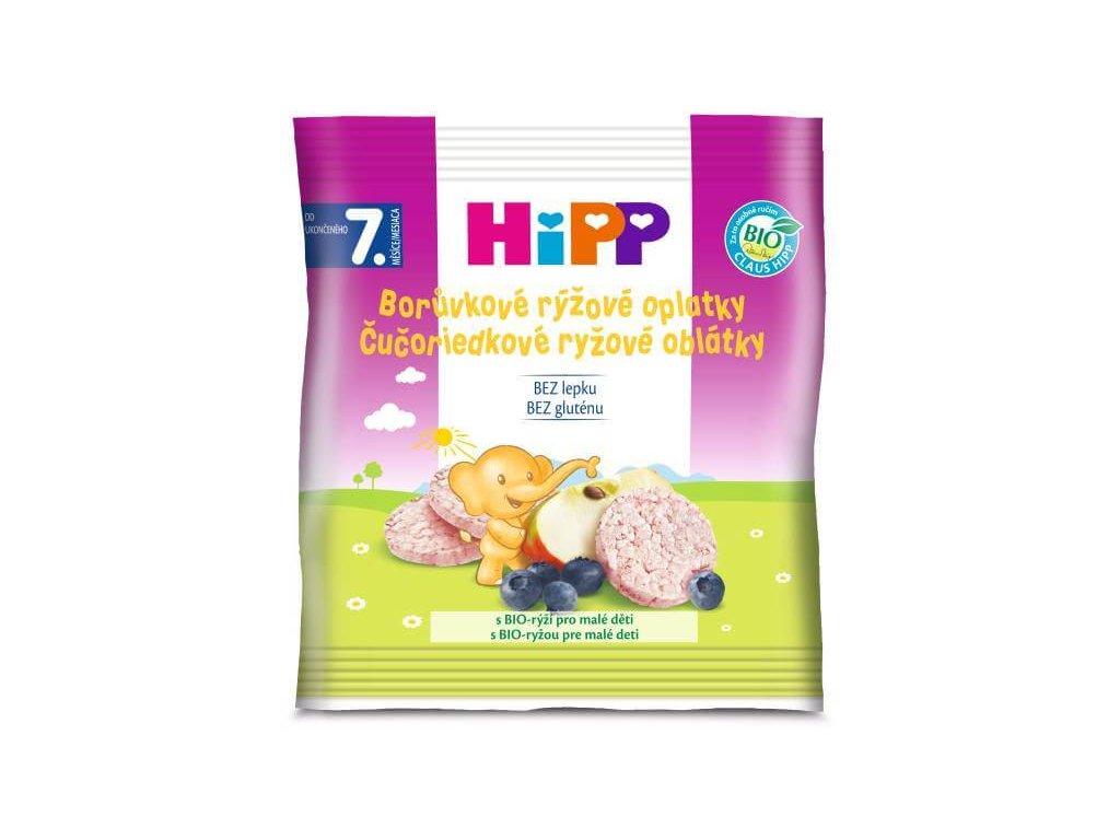 hipp bio boruvkove ryzove oplatky 30 g 9062300130772