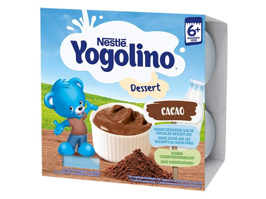 nestle baby yogolino dessert cokolada 4x 100 g 4005500029441 4005500029441 T911