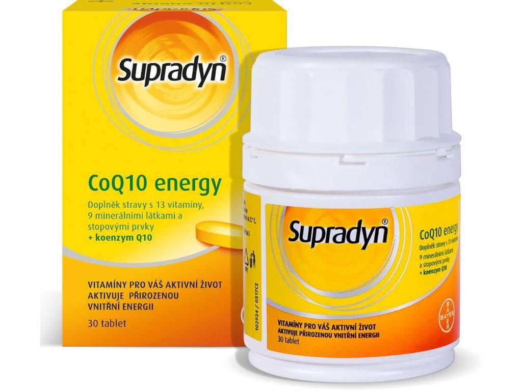 supradyn co q10 energy 30 tablet 8590322001097