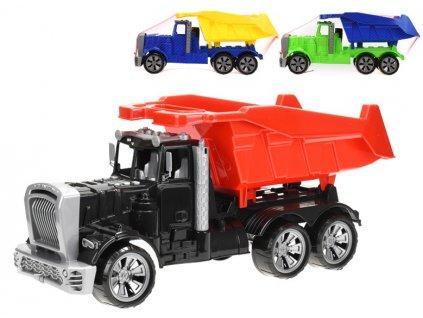Auto sklápěčka volný chod 57 cm  3 barevné kombinace