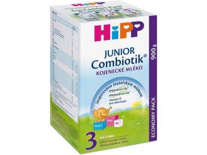 hipp 3 junior combiotik kojenecke mleko 900 g 4062300295506