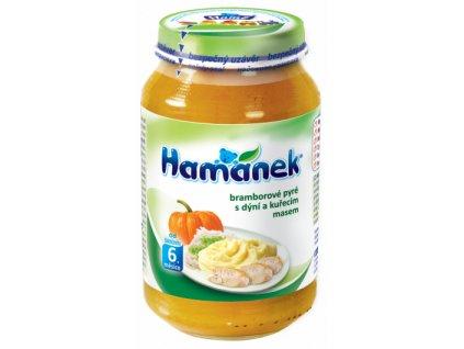hamanek bramborove pyre s dyni a kurecim masem 6x 230g 8595139779146