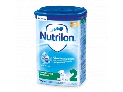 Nutrilon 2 pokračovací kojenecké mléko 800 g 8590340104077
