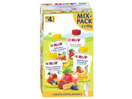 hipp mix bio kapsicek 4x 90 4062300320017