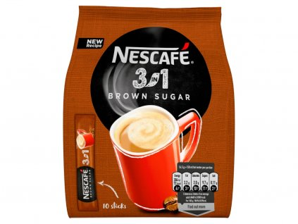 nescafe 3in1 brown sugar instantni kava 10 sacku x 16 5 g 165 g 7613036844475 7613036844475 T1