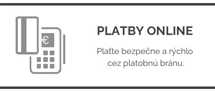 Platby online